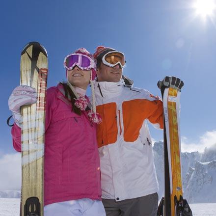 Urlaubsgutscheine für Skifahren in Salzburg